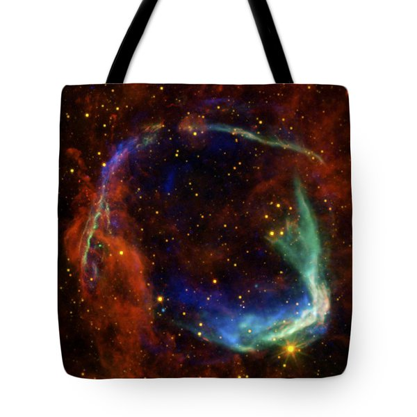 Oldest Recorded Supernova Tote Bag by Adam Romanowicz