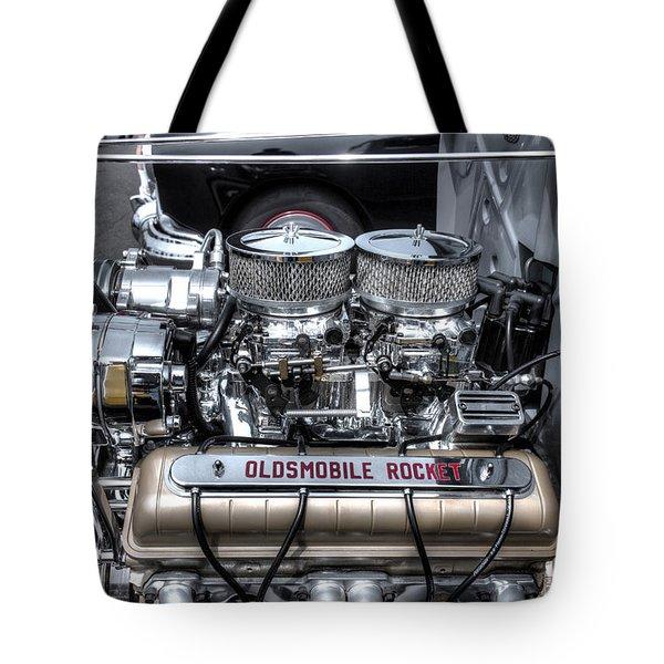 Olds Rocket Tote Bag