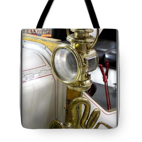 Oldtimer Front Light Tote Bag by Heiko Koehrer-Wagner