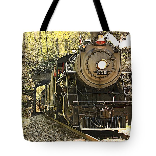 Ole' #630 Steam Train Tote Bag
