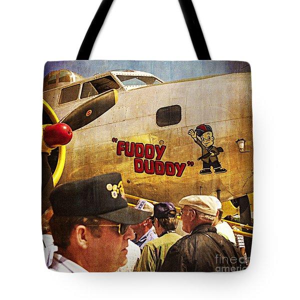 Ole Fuddy Duddy Tote Bag
