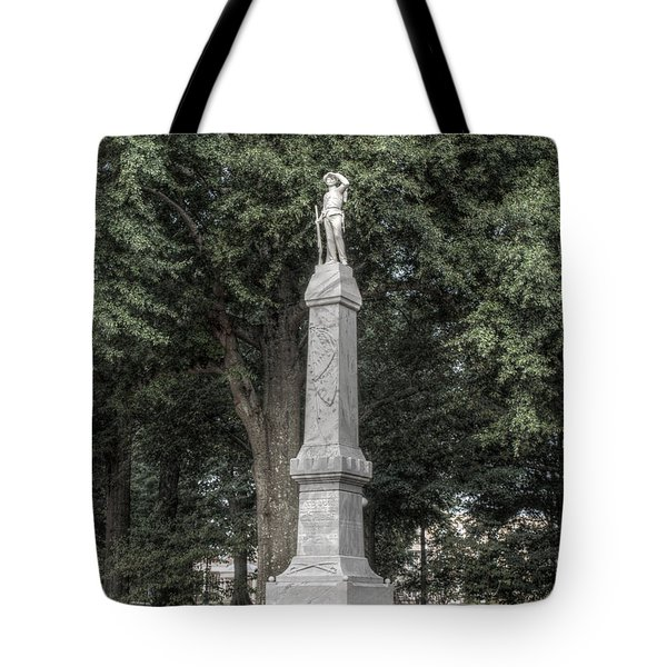 Ole Miss Confederate Statue Tote Bag