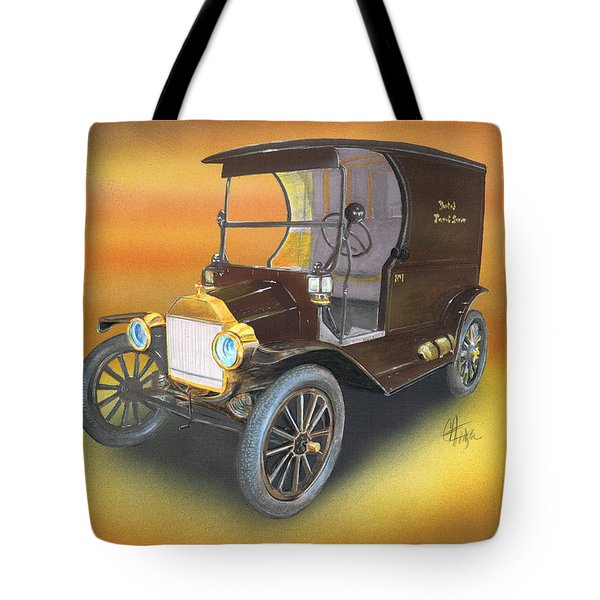 Tote Bag featuring the painting Ole' No 1 by Chris Fraser
