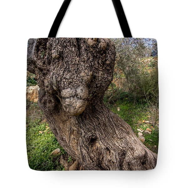 Olive Monster Tote Bag