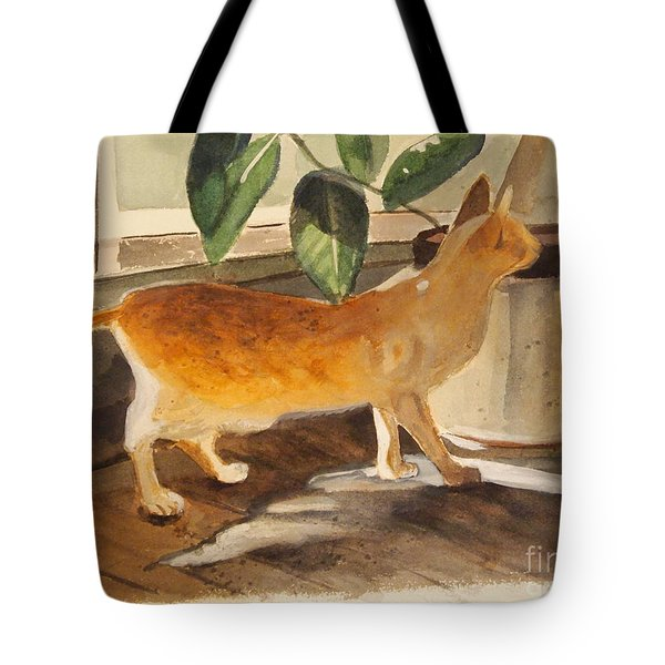Oliver Tote Bag by Nancy Kane Chapman