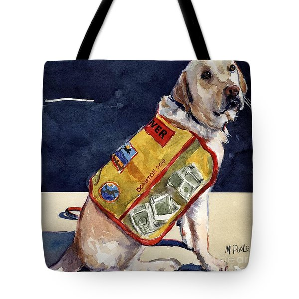 Oliver Rocks The Vest Tote Bag by Molly Poole