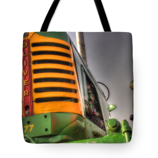 Oliver Tractor Tote Bag