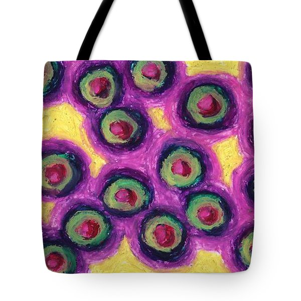 Olives Tote Bag by Daina White