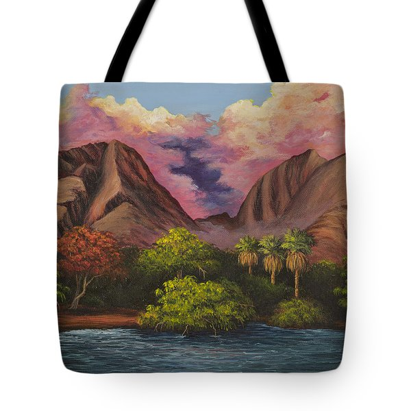 Olowalu Valley Tote Bag