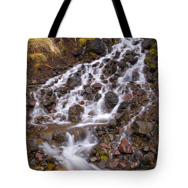 Olympic Cascade 2 Tote Bag by Joe Doherty