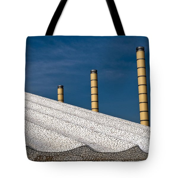 Olympic Columns Tote Bag