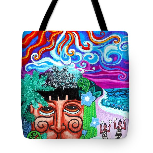 Om Tote Bag by Genevieve Esson