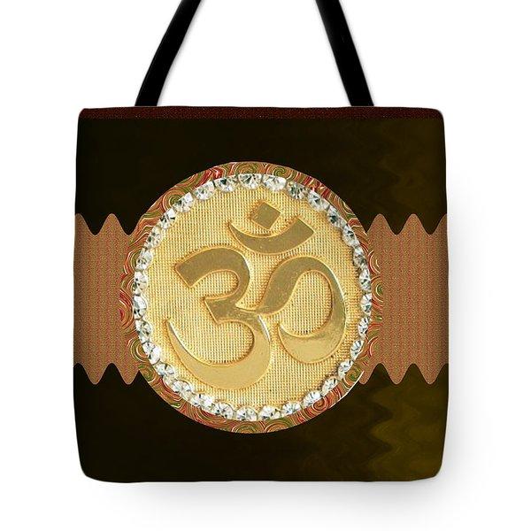 Om Mantra Ommantra Hinduism Symbol Sound Chant Religion Religious Genesis Temple Veda Gita Tantra Ya Tote Bag