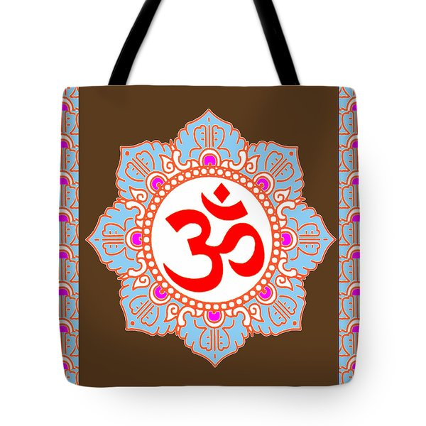 Tote Bag featuring the photograph Om Mantra Ommantra by Navin Joshi
