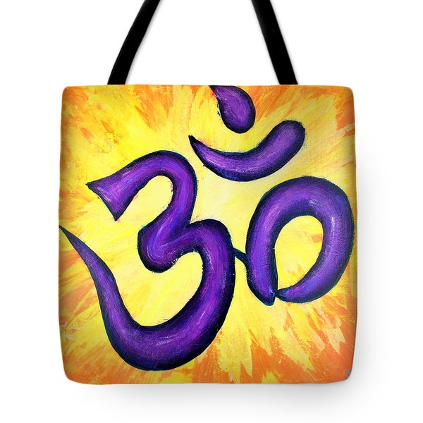 Om Symbol Art Painting Tote Bag
