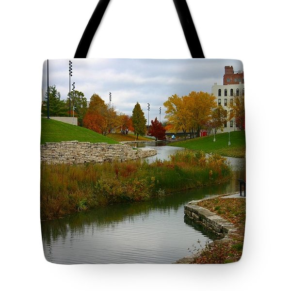 Tote Bag featuring the photograph Omaha In Color by Elizabeth Winter