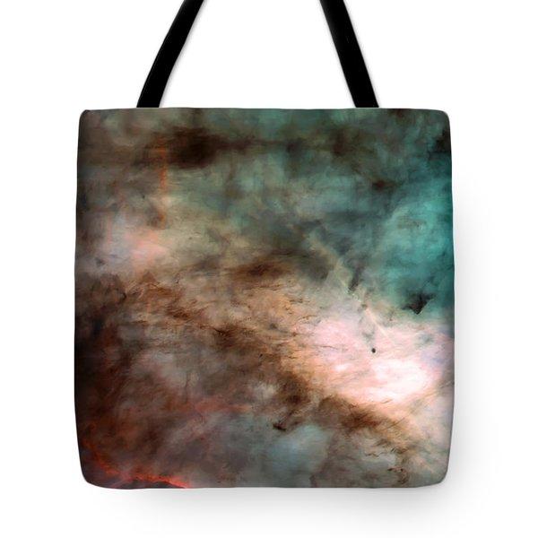 Omega Swan Nebula 1 Tote Bag by Jennifer Rondinelli Reilly - Fine Art Photography