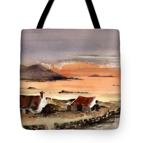 Omey Island Sunset Galway Tote Bag