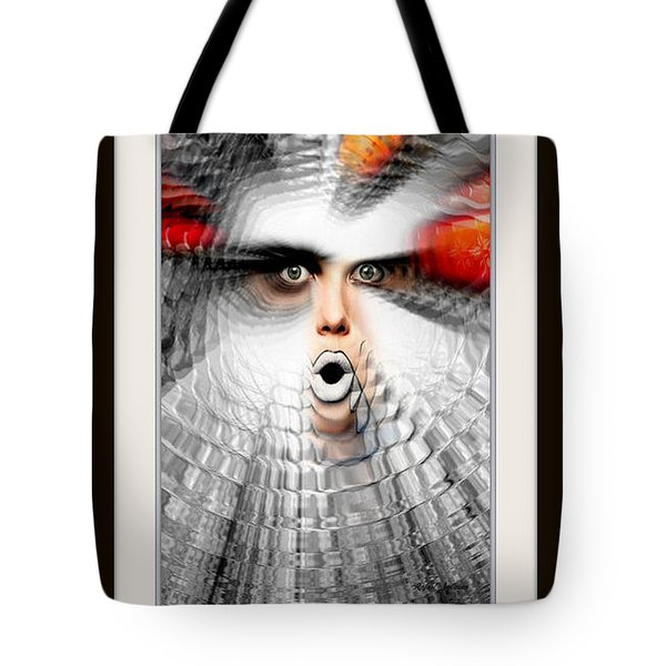 Tote Bag featuring the painting OMG by Rafael Salazar