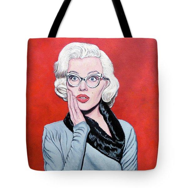 OMG Tote Bag by Tom Roderick