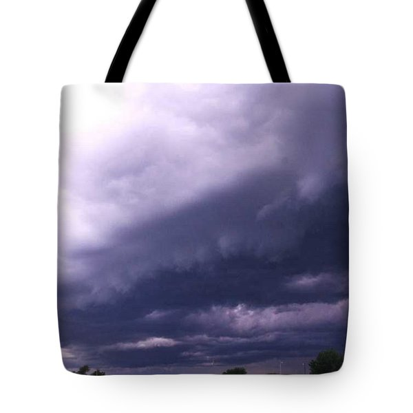Ominous Clouds Tote Bag by PainterArtist FIN