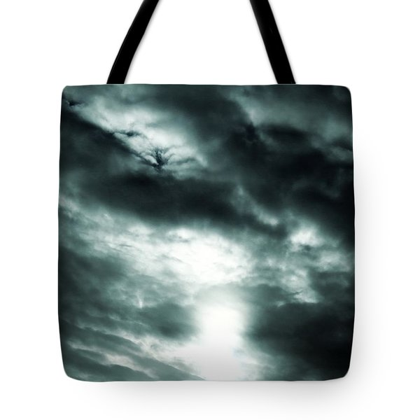 Ominous Skies Tote Bag