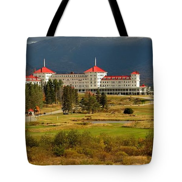 Omni Resort White Mountains Panorama Tote Bag