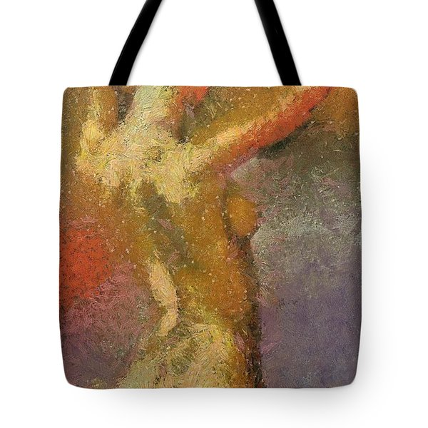 On A Hot Summer Day Tote Bag