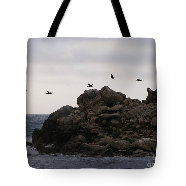 Tote Bag featuring the photograph On A Mission by Bev Conover