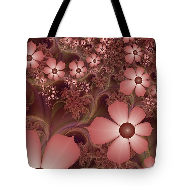 Tote Bag featuring the digital art On A Summer Evening by Gabiw Art