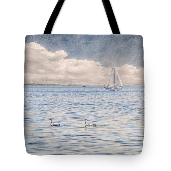 On A Summer's Breeze Tote Bag