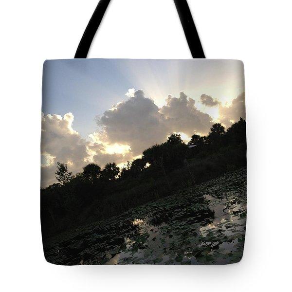 On An Angle Tote Bag by K Simmons Luna