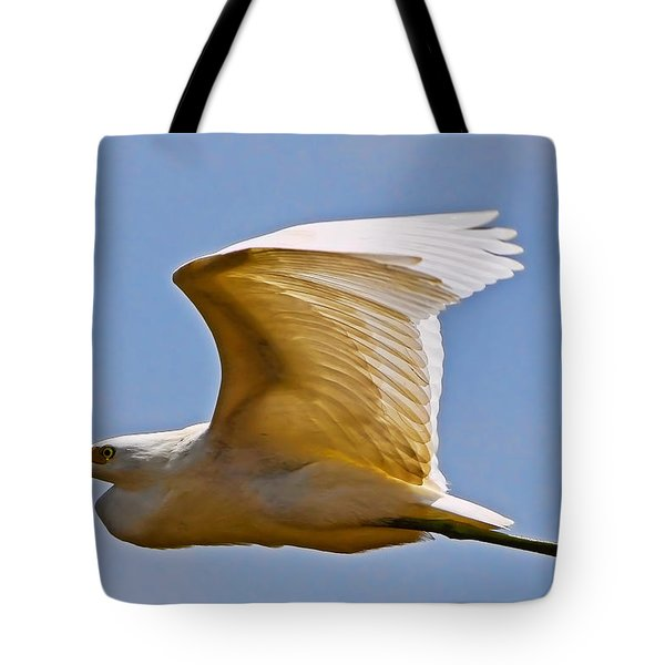 On Angel's Wings Tote Bag