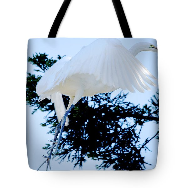 On Approach Landing Tote Bag
