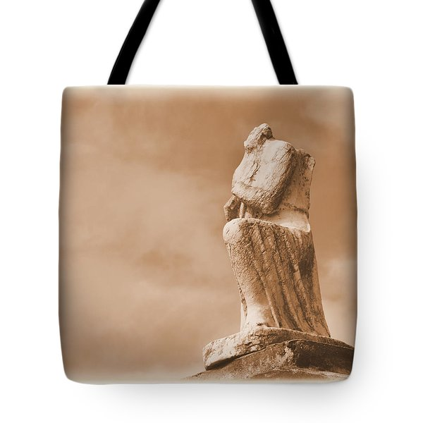 Tote Bag featuring the photograph On Bended Knee by Nadalyn Larsen