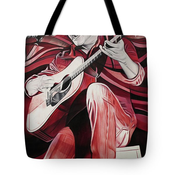 Tote Bag featuring the painting On Bended Knees by Joshua Morton