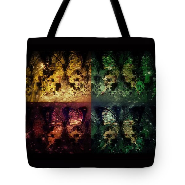On Butterfly Wings Tote Bag