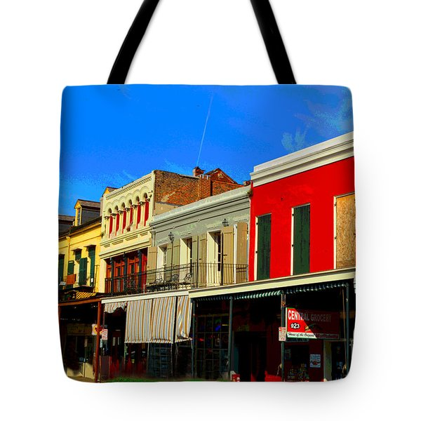 On Decatur Street Tote Bag by Alys Caviness-Gober