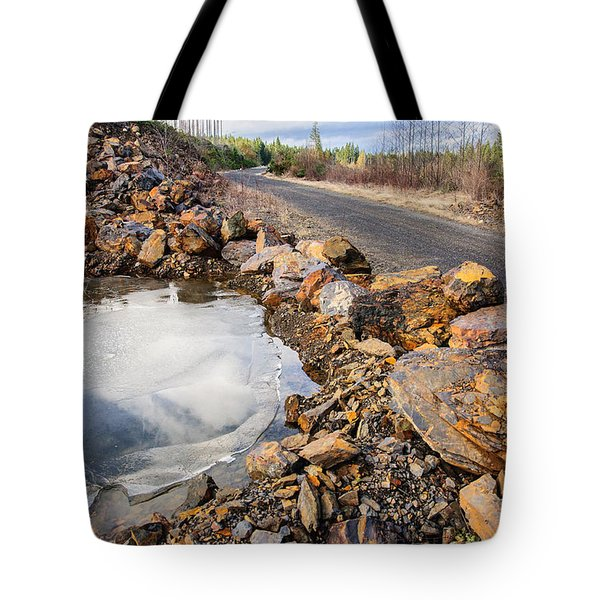 On Frozen Pond Collection 6 Tote Bag