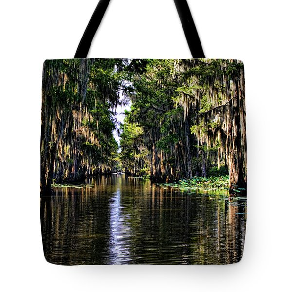 On Golden Canal Tote Bag