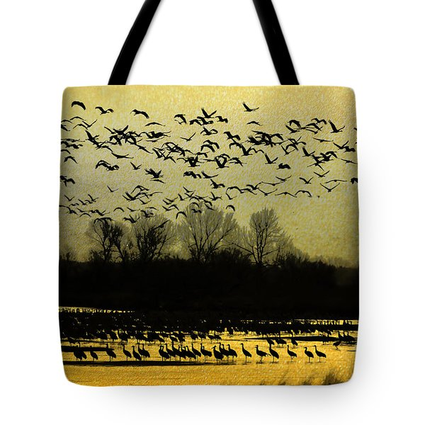 On Golden Pond Tote Bag by Elizabeth Winter