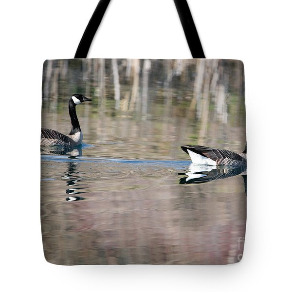 On Golden Pond Tote Bag by Mike Dawson