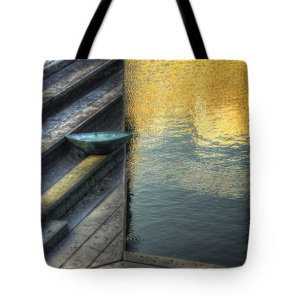 On Golden Pond Tote Bag by Wayne Sherriff