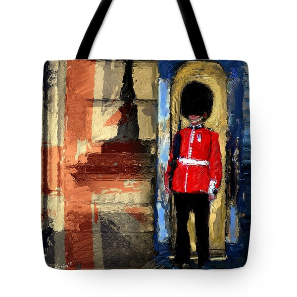 On Guard For Thee Tote Bag