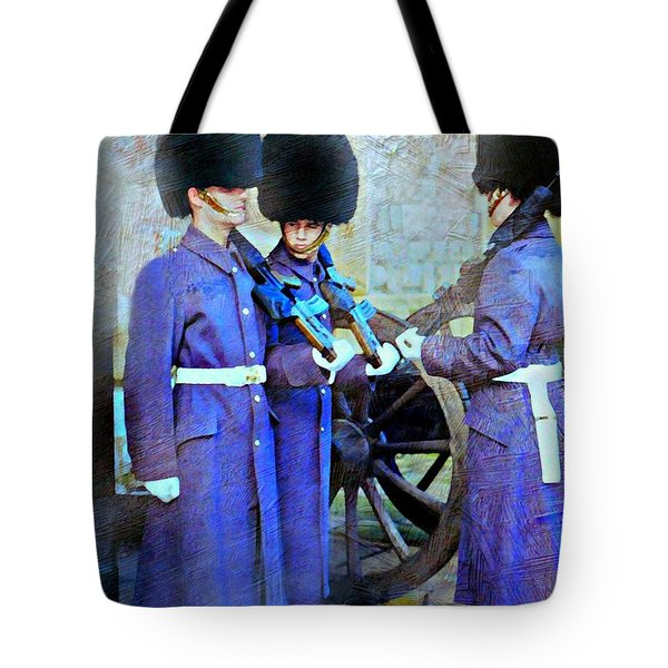 On Guard London Tote Bag