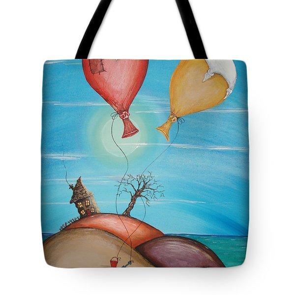 On Holiday Tote Bag