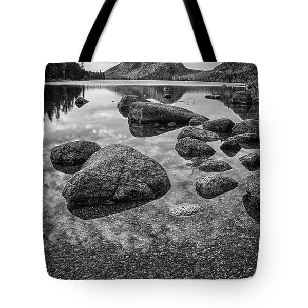 On Jordan Pond Tote Bag