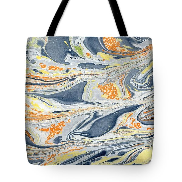 Tote Bag featuring the painting On Mount Doom by Menega Sabidussi