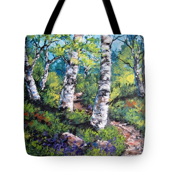 On My Way  Tote Bag by Megan Walsh
