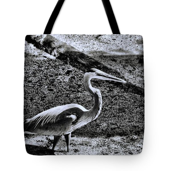 Tote Bag featuring the photograph On Patrol by Robert McCubbin